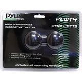 """PYLE PLWT4 1.5-Inch 200 Watt Surface Mount Piezo Tweeter by Pyle. $7.21. These Pyle Wave tweeters will ring like money against the walls of your vehicle! The 1.5"""", 200-watt piezo tweeters are powered by a high density neodymium magnet for sweet highs. These speakers ultimately deliver a frequency response of 3 kHz to 30 kHz. These tweeters are surface mountable for a clean, professional look. Includes custom mount, wires, and installation hardware.. Save 69% Off!"""