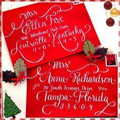 Calligraphy for Christmas and Holidays |