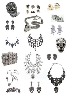 Butler and wilson skull collection <3