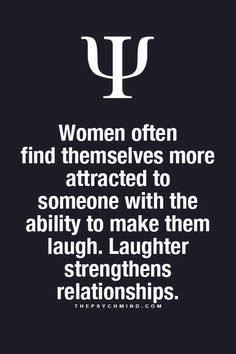 Laughter strengthens relationships