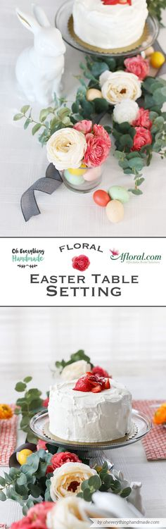 DIY Easter table set