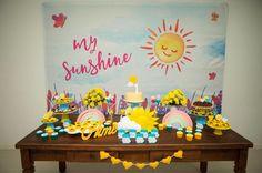 Festa Sunshine da Aimê - Decoração de @mila.fraga