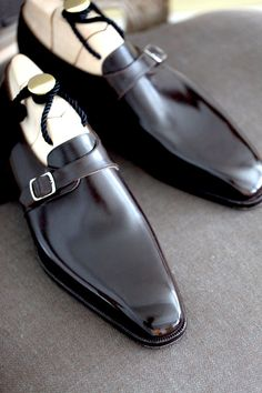 Beautiful Bespoke Shoes: Masaru Okuyama. Japanese craftsmanship at its finest. | Follow rickysturn/mens-fashion
