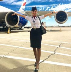 """606 Likes, 31 Comments - Pippa O'Connor (@pippaoconnor) on Instagram: """"Travel = Life . . #crewlife #airhostess #cabincrew #flightattendant"""""""
