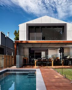 You'll never guess what kind of home this modern extension is attached to! 👉 show us how to fuse old and new with Matrix Cladding to bring the look to life. Double tap if you love the look! Amazing Architecture, Architecture Design, Dream House Interior, Energy Efficient Homes, Exterior Design, My House, Facade, Cottage, House Design