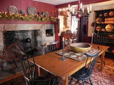 pictures of primitive decorated rooms - Yahoo Search Results