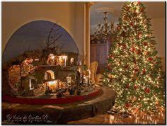 Home on Christmas Day - Beautiful Presépio De Natal by  Kris de Curtis.