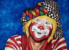 Giclee Print - Watercolor Clown #16 Ron Maslanka AKA Sam The Clown    Paper: Fine Art Paper    Giclee Print Size: 9 X 12 , 11 X 14, or 16 X 20inches    Frame: Unframed    Signed on back and on comes with signed Certificate of Authenticity    The paper upon which the ink was applied is fine art paper : acid free, lignin chlorine free, smudge resistant. Avoid touching the surface of the print. Required framing under glass.    The print was matched to the original artwork in a collaborative…
