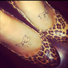 Pretty sure I need a bow tattoo! Pretty Tattoos, Cute Tattoos, Bow Tattoos, Neck Tattoos, Garter Tattoos, Rosary Tattoos, Bracelet Tattoos, Heart Tattoos, Tatoos