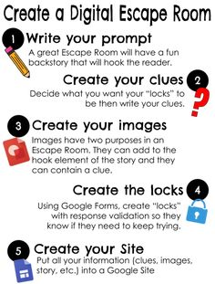 How to create a digital escape room for your class or PD Escape Room For Kids, Escape Room Puzzles, Breakout Game, Breakout Boxes, Riddles To Solve, Educational Technology, Digital Technology, Problem Solving, Textbook