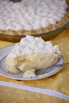 Banana cream pie.