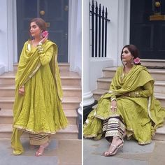 latest photoshoot by nida yasir , gorgeous look, stylish pakistani dress, latest fashio 2019 , photoshoot ideas Pakistani Fashion Party Wear, Pakistani Dresses Casual, Pakistani Wedding Outfits, Pakistani Dress Design, Indian Fashion, Wedding Dresses, Beautiful Pakistani Dresses, Korean Fashion, Indian Attire