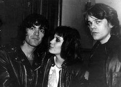 unpetitgateau:  Dee Dee Ramone, Joan Jett, and David Johansen.