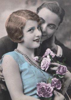 Vintage Romance, Vintage Love, Vintage Beauty, Decoupage Vintage, Vintage Ephemera, Vintage Couples, Vintage Ladies, Vintage Pictures, Vintage Images