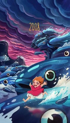 Tribute to Hayao Miyazaki Poster Series - Created by Vincent Belbari
