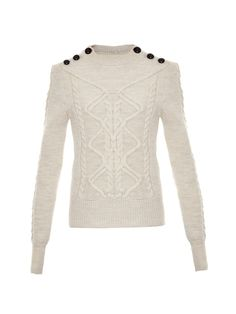 Dustin cable-knit sweater | Isabel Marant | MATCHESFASHION.COM UK