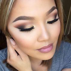 beautiful neutral eyeshadow look
