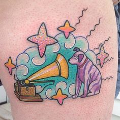tattoo Kelly McGrath dog