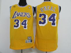 Lakers 34 retro yellow shark O neal Jersey best mesh  fashion  clothing   shoes  accessories  mensclothing  activewear (ebay link) 858d29333