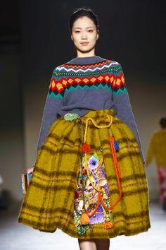 Stella Jean ready to wear fall winter 2015 in Milan