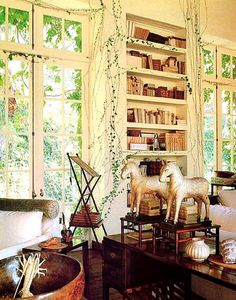 Rose Tarlow Residence, 1991, Architectural Digest.