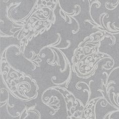 Buy the Brewster Silver Direct. Shop for the Brewster Silver Monireh Silver Fish Paisley Wallpaper and save. Paisley Wallpaper, Paisley Art, Luxury Wallpaper, Painting Wallpaper, Home Wallpaper, Pattern Wallpaper, Wallpaper Stores, Wallpaper Samples, New Home Wishes