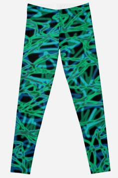 'electric fog' leggings