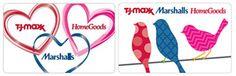 TJMaxx/Marshalls/Home Goods gift card