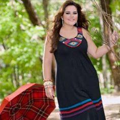 Vestidos de verano para obesas