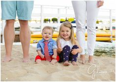 Newport Beach Family Session- Orange County, CA, Balboa Island, summer, family portraits, children, kids, toddlers, babies, baby, toddler outfits, boats, bay, harbor, water, sand, what to wear, candid photography, husband and wife team photographers, blue eyes, smiles, happy, matching nail polish, mother and daughter, instagram. GilmoreStudios.com