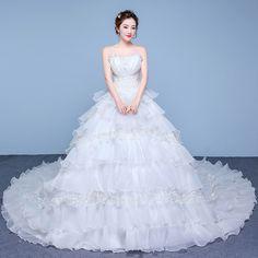 2017 spring new bride wedding dress new promotion wrist breast
