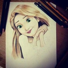 Rupunzel is my one of my favorite princesses