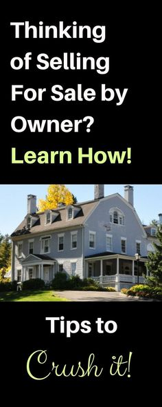 90 of for sale by owner homes (FSBOs) fail to sell Learn how to