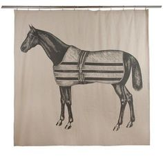 Thomaspaul Equestrian Shower Curtain | 2Modern Furniture & Lighting