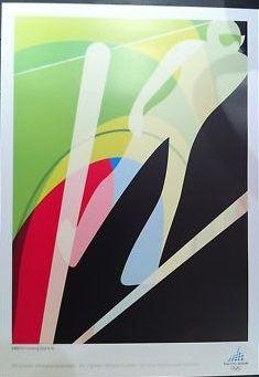 Torino Winter Olympics - Ski Jumping Poster
