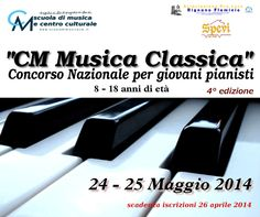 CM musica classica - concorso nazionale per giovani pianisti (8 - 18 anni di età)