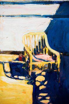 Cain Chair Outside, by Richard Diebenkorn by Thomas Hawk, via Flickr
