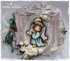 Magnolia cards by Debbie: Angel Tilda With Gloria