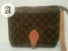 Preowned LOUIS VUITTON vintage crossbody bag Cartouchiere GM In a good condition. Crossbody Bag, Tote Bag, Dubai Uae, Branded Bags, Vintage Louis Vuitton, Luxury Bags, Authentic Louis Vuitton, Louis Vuitton Monogram, Shoulder Bag