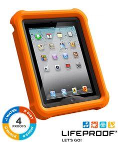 LifeProof LifeJacket Float Case Apple iPad 4/3/2 Orange