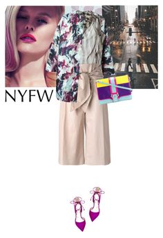 """""""NYFW"""" by saramoreira ❤ liked on Polyvore featuring Jocelyn, Carven, Vivienne Westwood Anglomania, MSGM, Steve Madden, Paula Cademartori, women's clothing, women, female and woman"""
