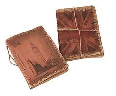 Set de 2 cuadernos de papel y cuerda