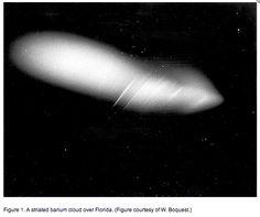 Transportstyrelsen hänvisade i tidigare artikel till NASA för att avfärda chemtrails som kondensstrimmor,men NASA medger att deanvänder chemtrails. Barium och aluminiumoxid, som uppmätts i nedfal... Nasa, Cloud Seeding, Weather, Clouds, Weather Crafts, Cloud
