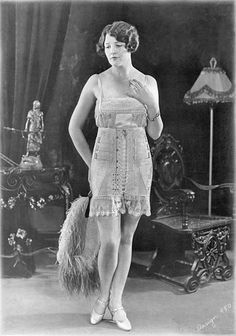 de52ac89c37 Corset with front stitching and was an innovation in the late 1910 s to  early 1920 s.