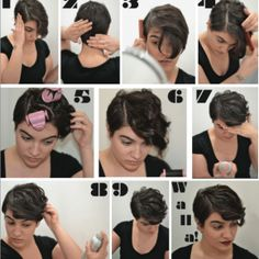 pixie cut style. Ann would look all of the hot with this