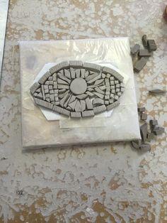 finished clay eye