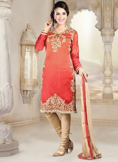 Green Art Jacquard silk Salwar Kameez Online Shopping: KCR4653 ...