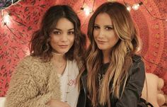 Ashley Tisdale and Vanessa Hudgens reunite for first duet and cover 'Ex's and Oh's'