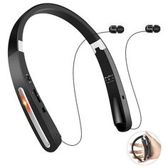 6. TOCGAMT Wireless Retractable Foldable Neckband V4.1 (KKY-992)
