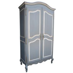 Newport Cottages Provence Armoire, available at #polkadotpeacock. #peacocklove #newportcottages #furniture